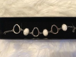 Luna Silver Bracelet white-silver-colored
