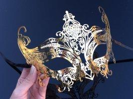 Bijoux pour la tête doré métal