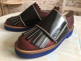 Marni Moccasins multicolored leather