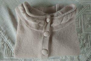 Unbekannte Marke Jersey de punto rosa empolvado lana de angora