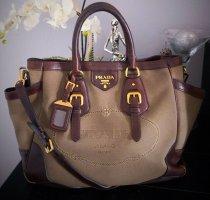 Luxus Pur! Schöne Prada Jacquard Tasche