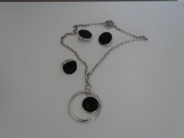 Catena d'argento nero