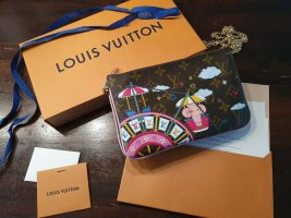 LV LOUIS VUITTON DOUBLE ZIP POCHETTE 2020 Ballerine Vivienne - Original -