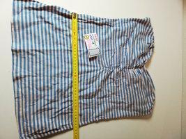 H&M Camisa de un solo hombro multicolor