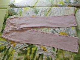 Mac Jeansy z prostymi nogawkami nude-jasny różowy Bawełna