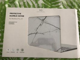 "MacBook 15"" protective case WHITE MARBEL"