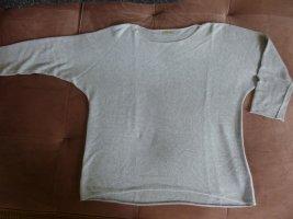 Made in Italy Hellgrau Feinstrick Pullover Gr. 46