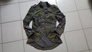 """Made in Italy Sweatjacke/ Blazer """" Camouflage """" Gr. S """" wieNEU !!!"""