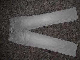 Madeleine Jeans grau 5-Pocket Gr. 36 gerade geschnitten mittlerer Bund