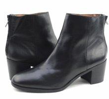 Madewell Pauline Black Leather Ankle Boot US 10