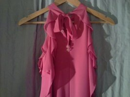 Apart  glamour Robe chiffon rose-rose fluo polyester