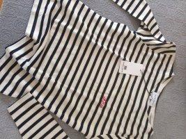 """Maison Labiche, Sailor Shirt """"Chérie"""", Gr. L, navy-weiss. Sonderanfertigung! NEU!"""