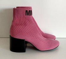 Maison Margiela MM6 Stiefelette Gr. 38 pink Stretch Logo