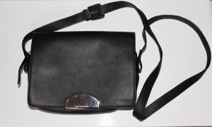 Maison Martin Margiela ♥️ Tasche Handtasche schwarz Leder NEU