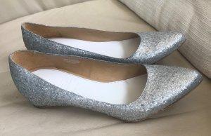 Maison Martin Margiela for H&M Ballerina's met kant zilver