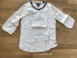 Maison Scotch Bluse mit raffiniertem Kragen - Ungetragen