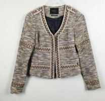 Maison Scotch Tweed Blazer multicolored cotton