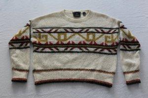 Maison Scotch Maglione di lana multicolore Acrilico