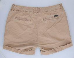 Maison Scotch Hot Pants light brown-beige cotton
