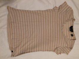 Maison Scotch Stripe Shirt apricot-white cotton