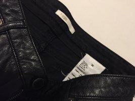 MAJE Leder & Jeans Short Hotpants hüftig Hotpant S 36