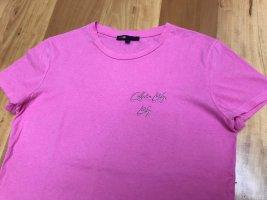 Maje PARIS   T-Shirt  rosa  Gr. 1 / S