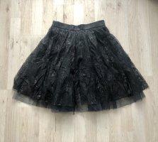 Maje Tulle Skirt black