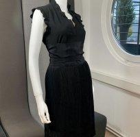 Maje Jupe plissée noir