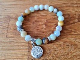 Amazonit Naturstein Bracelet de bras multicolore
