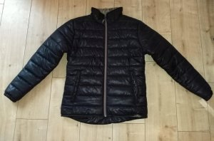 Quilted Jacket black-sand brown polyester