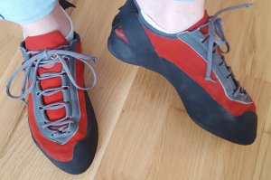Mammut Lace-Up Sneaker red