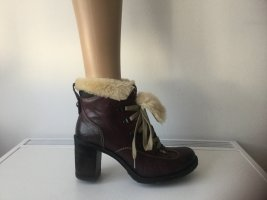 MANAS Damen Leather Ankle Boots Gr.39
