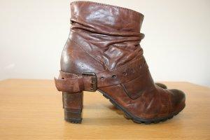 MANAS Stiefeletten Boots dunkelbraun Gr. 41