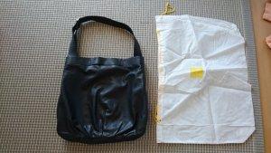 Mandarina Duck Shopper Tasche schwarz Leder Judo