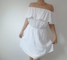 Mango Suit Vestido playero blanco