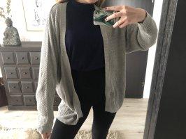 Mango Cardigan a maglia grossa grigio chiaro-grigio