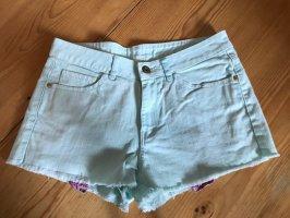 Mango Jeans shorts hellgrün 36 S