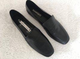 Mango Leder Loafers