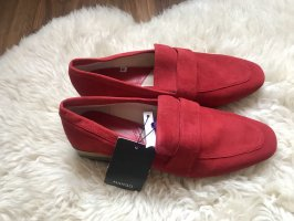 Mango Oxfords red