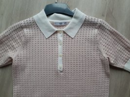 Mango Gebreid shirt stoffig roze-rosé
