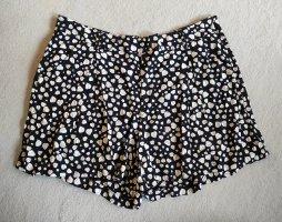 Mango casual Shorts oatmeal-dark blue