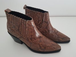 Mango Ankle Boots brown
