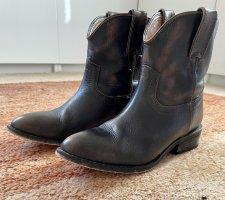 Mango Stiefeletten/ Cowboy Boots. Gr. 37.