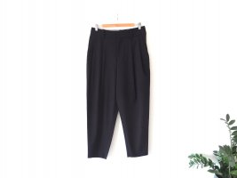 Mango Suit Anzughose Gr. 40 Chino Bundfaltenhose dunkelblau