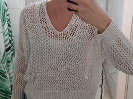 Mango Sweater in netz optik