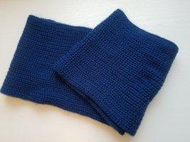 Manguun Loop Schal - Grobstrick in Blau