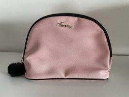 Manou, Kosmetiktasche mit Bommel, rosa
