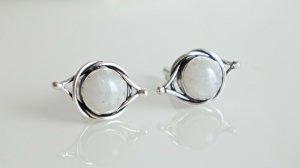 Bracelet en argent argenté-blanc