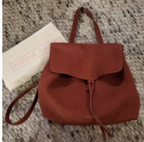 MANSUR GAVRIEL Mini Lady Suede Bordo