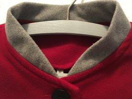Płaszcz polarowy Wielokolorowy Tkanina z mieszanych włókien